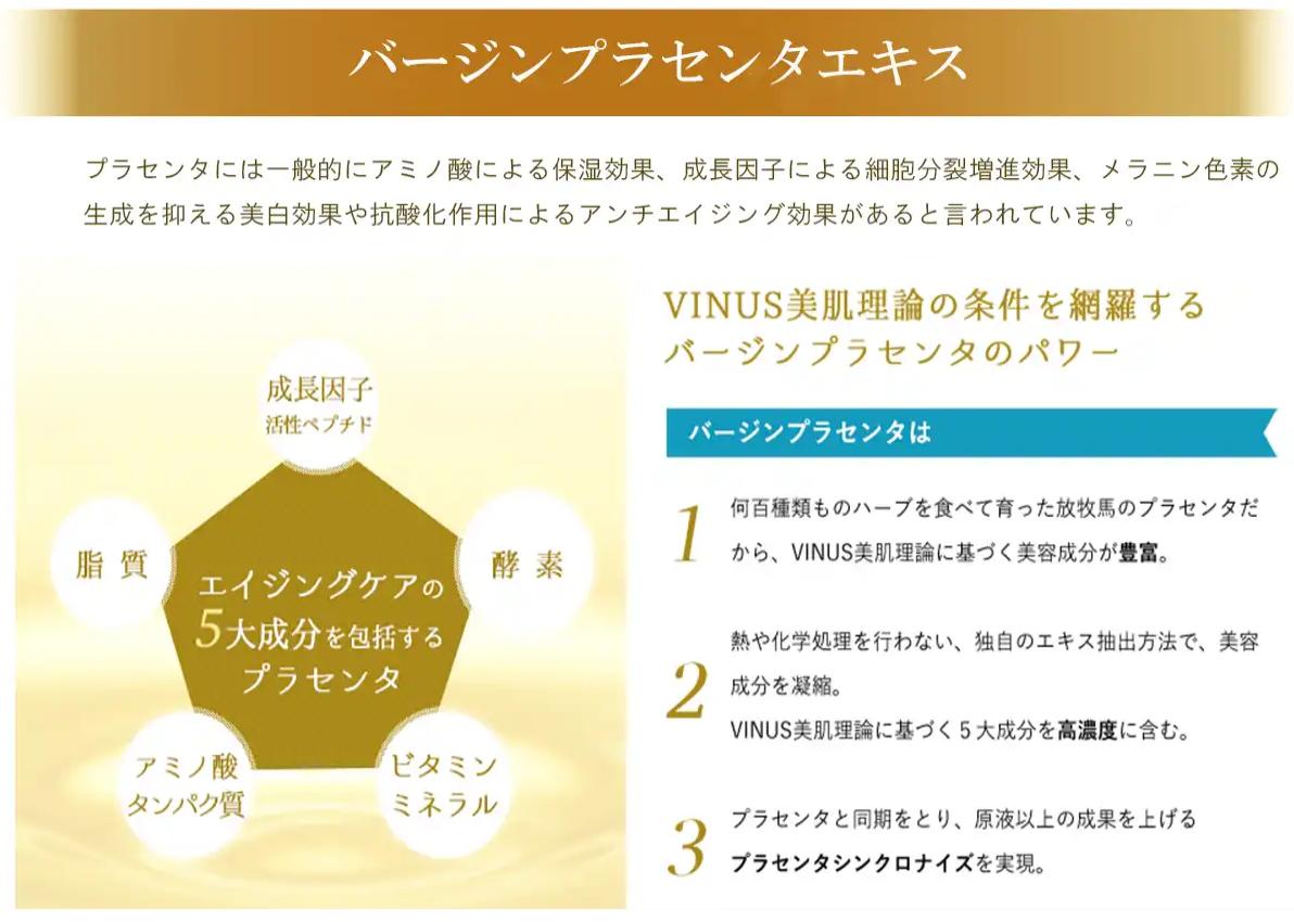 VINUSのプラセンタ